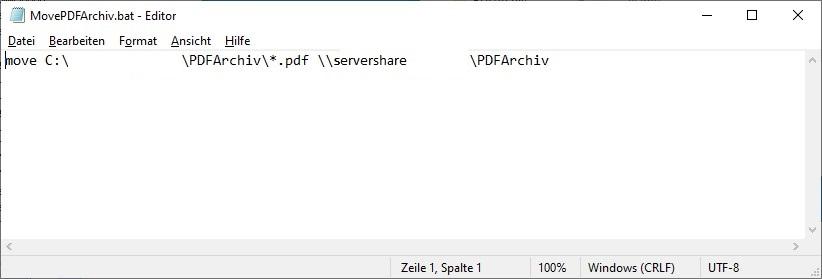 batch Datei zum verschieben von Dateien